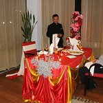 Jamal can certainly create a delightful table for all special occasions.