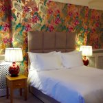 Flamingo Room with extremely comfortable extra long king bed