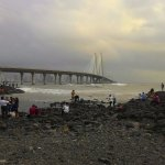 View from Bandra bandstand