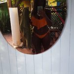 Outside of room/hammock mirror