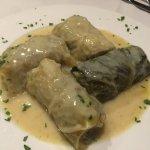 Stuffed cabbage type dish