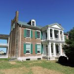 Front view of Carnton plantation house. (Wes Albers)