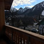 View from room, double room, twin room, slopes
