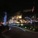 Broward County of Performing Arts :  Entrance ant Night