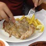Chicken plate - moist chicken