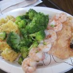 Baked Chicken Breast and Shrimp