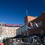 VIew of Boston Beer Works from Yawkey Way