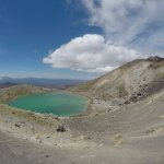 Emerald Lake on the Tongariro crossing, which Heather can arrange a bus for you to take you ther