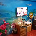 SpongeBob wall painting