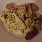 Scallop & Pesto Pasta Special