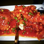 Deep-fried Squirrel-shaped Mandarin Fish in sweet & sour sauce