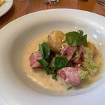 Boiled ham and cabbage