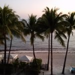 The view from our room at sunset.