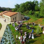 Wedding at the Banquet hall of Domaine de Gavaudun