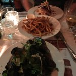 The shellfish and fries were to die for!!! Hubby did not care for his pulled pork as it was dry.