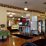 Wonderful small town feel. Great service. Egg salad outstanding. Cakes, cookies, donuts, pastrie