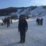จะได้เล่นสกีเป็นครั้งแรก