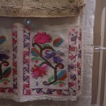 Some of the textiles displayed