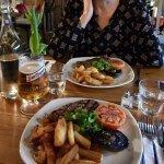 Steak main course