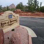 Arrival sign at Inn of Sedona