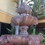 Fountain outside
