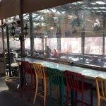 Very large patio areas