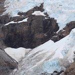 Hermosa vista del Glaciar Piedras Blancas