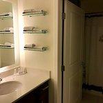 Bathroom foyer; clean, good lighting