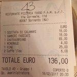 Ristorante Pizzeria Tasso Foto