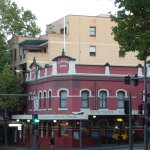 The front view of the Glasgow Arms Hotel, Ultimo, Sydney