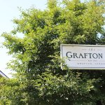 Outside the Grafton Inn