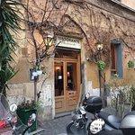 Ristorante Archimede exterior. Rome, Italy