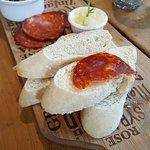 Bread & chorizo nibbles
