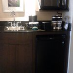 The coffee corner in your suite - more then enough!