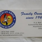 Business Card for Pelican Grill