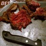 Viande bien cuite