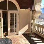 Balcony overlooking Austin