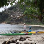 Bentenan island - great place for sea kayaking in North Sulawesi.
