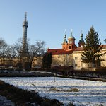 The Petrin Tower.