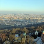 View from the top of Petrin Tower.