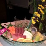 Sashimi Deluxe full floral view