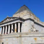 Shrine of Remembrance general view