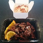 Sesame Beef: To Go