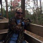My husband Tony enjoying the fresh air.