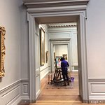 looking through various galleries