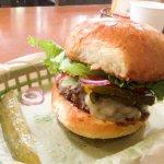 Sports Spot burger