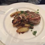 Grilled Swordfish with Caramelized Onions and Fingerling Potatoes
