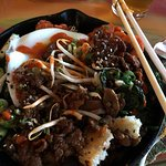 Bibimbap at Street