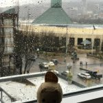 @mauriciothebeaver loved his room with a view of the convention center