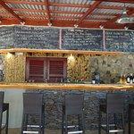 View of the bar/menu